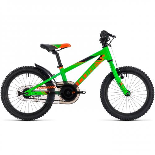 Bicicleta copii Kid 160 Flashgreen Orange 2018 121120