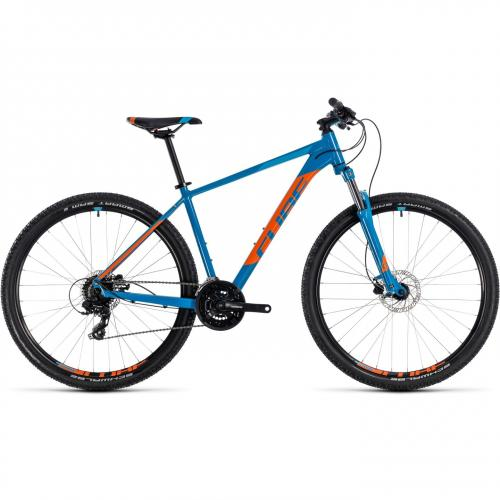 BICICLETA CUBE AIM PRO Blue Orange  29' marimea 19 2018