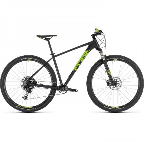 BICICLETA CUBE ACID EAGLE Black Flashgreen 2019 marime 19'