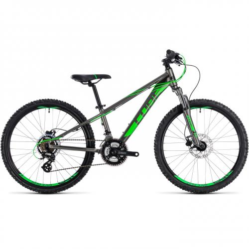 Bicicleta Kid 240 Disc Grey Flashgreen 2019 223220