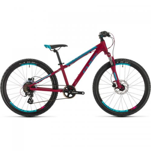 BICICLETA CUBE ACCESS 240 DISC GIRL Berry Aqua Pink 2020