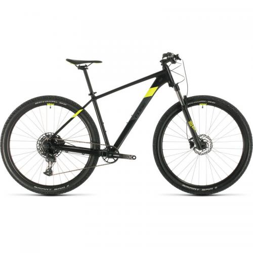 BICICLETA CUBE ANALOG Black Flashyellow 2020 29' 19' - 30210019