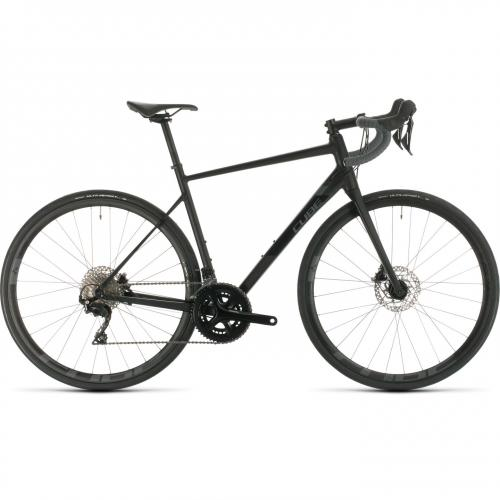 BICICLETA CUBE ATTAIN SL Black Grey 2020 58cm