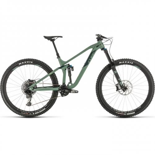 BICICLETA CUBE STEREO 170 RACE 29 Green Sharpgreen 2020 20