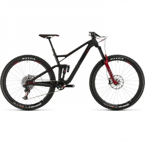 BICICLETA CUBE STEREO 150 C:68 SLT 29 Carbon Red 2020 18