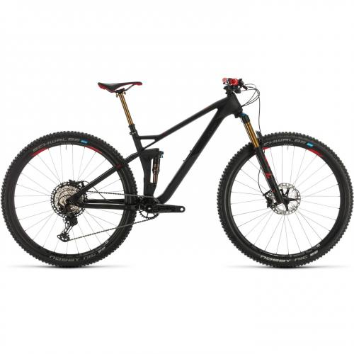 BICICLETA CUBE STEREO 120 HPC SLT 29 Carbon Red 2020 20