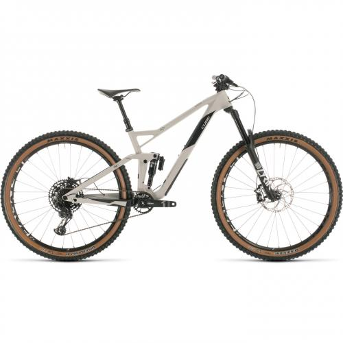 BICICLETA CUBE STEREO 150 C:62 RACE 29 Grey Carbon 2020 18