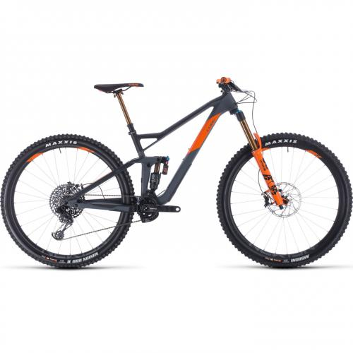 BICICLETA CUBE STEREO 150 C:68 TM 29 Grey Orange 2020 20