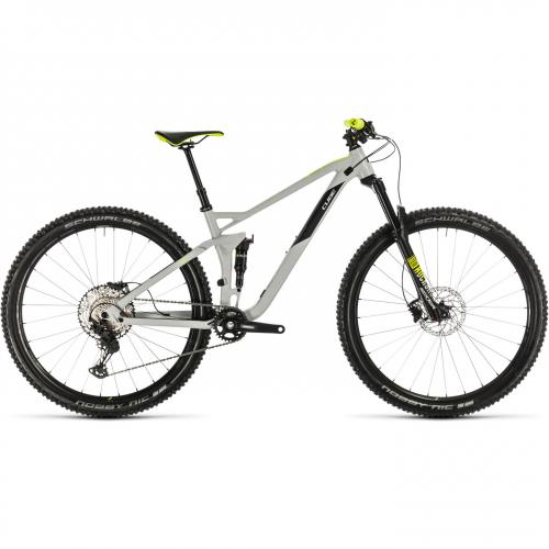 BICICLETA CUBE STEREO 120 RACE 29 Lightgrey Flashyellow 2020 18
