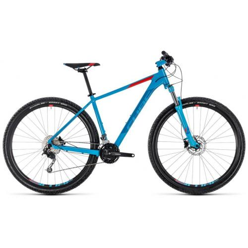 BICICLETA CUBE AIM SL Red and Blue 29' marimea 19 2018